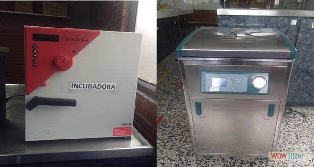 Incubadora - Autoclave