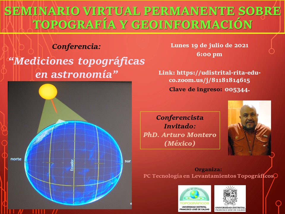 Seminario virtual permanente sobre Topografía y Geoinformación