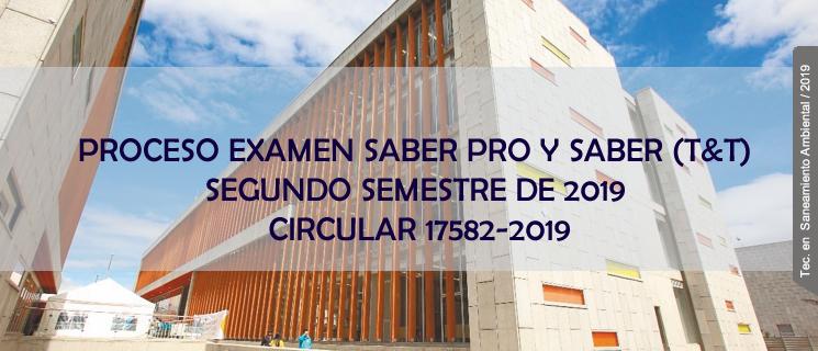 Prueba Saber Pro Publicación: 12/07/2019