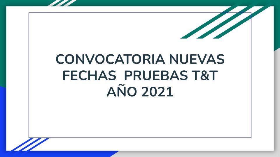 Pruebas Saber T&T 2021