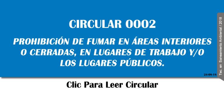 Circular 0002
